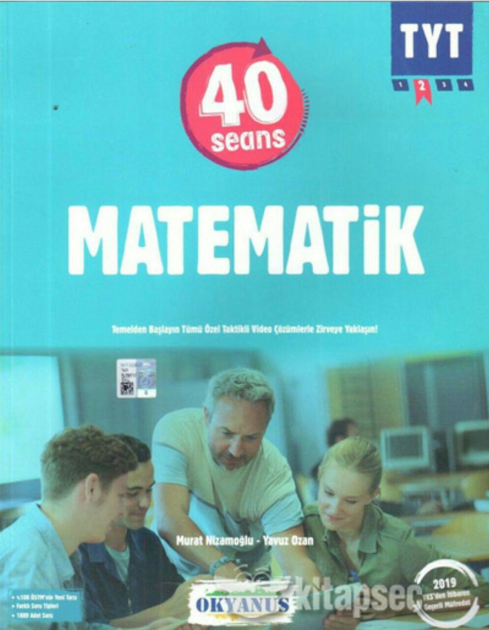 Okyanus Yayınları 40 Seansta TYT Matematik