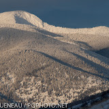 Stuart Peak, wrapped in a cold blanket of snow.