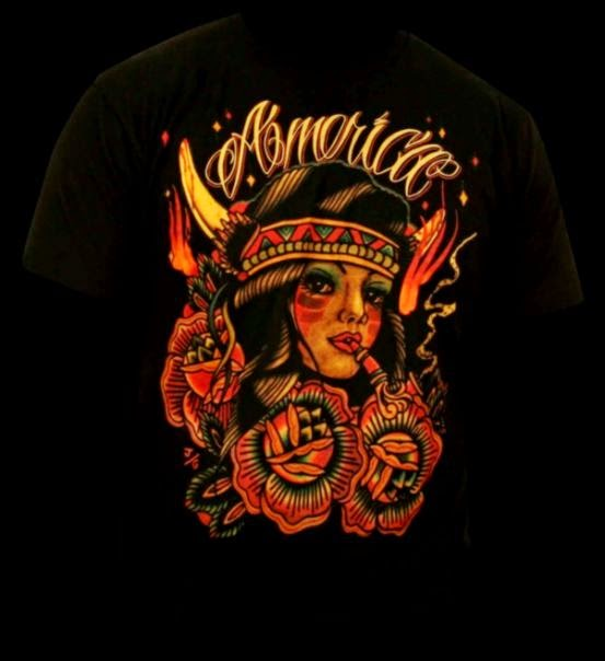 T Shirts  Black Market Art Company Tattoo Art amp Apparel