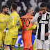 Juventus star Cristiano Ronaldo went back on promise to swap shirts after Sorrentino's saved penalty