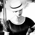 Carmen having tea - Lillian Bassman