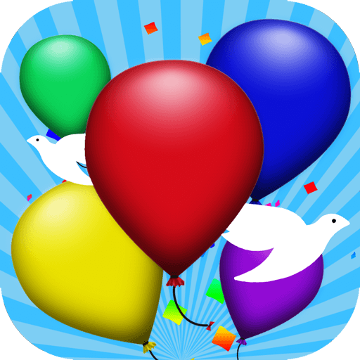 Balloon Pop 休閒 App LOGO-硬是要APP