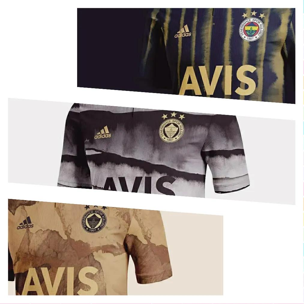 ini adalah gambar foto jersey konsep fenerbahce 2020-2021 konsep adidas