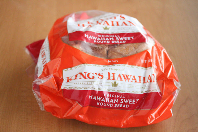 photo of a package of King Hawaiian round bread