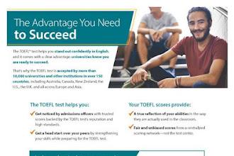 Taller exclusivo de preparación de 4 habilidades - Examen TOEFL