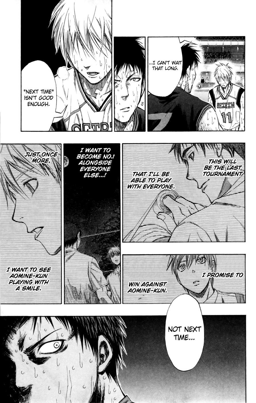 Kuroko no Basket Manga Chapter 128 - Image 11
