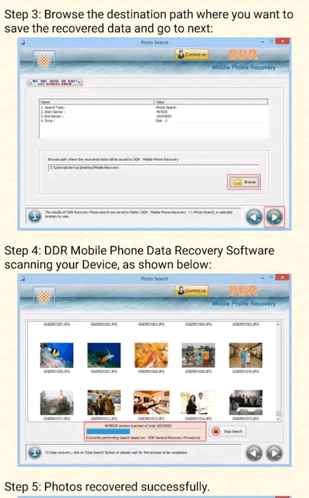Hard Drive All Data Restore advisor to recover deleted files, folders and all