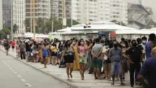 Rio registra quase 700 novos casos de Covid-19 em 24 horas; Fila por um leito de UTI tem 270 pacientes