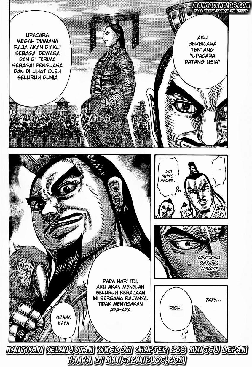 Baca Manga Kingdom Chapter 367 Komik Station