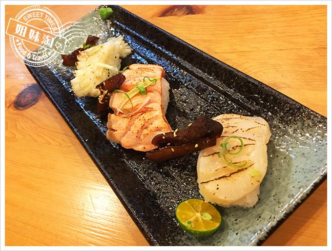 醉便宜日式料理炙燒鮭魚壽司