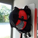 Sac à dos moto porte casque de la marque richa 49e
