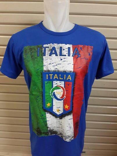 Jual Kaos Bola Timnas Italia Biru
