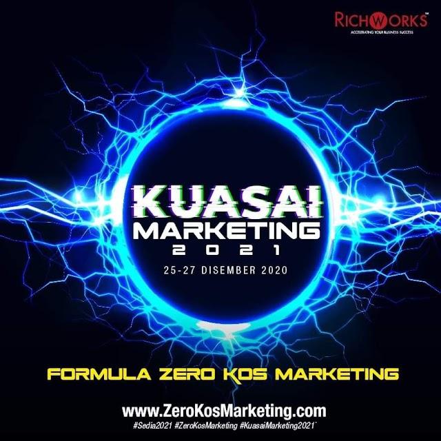 Program Virtual Online Kuasai Marketing 2021 Formula Zero Kos Marketing Oleh RichWorks International Sdn Bhd. PERCUMA Untuk 3,000 Penyertaan Terpantas