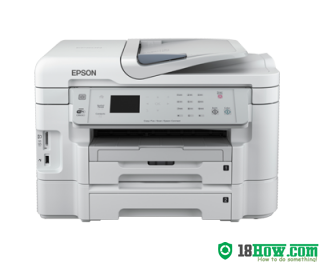 How to reset flashing lights for Epson WorkForce WF-3531 printer