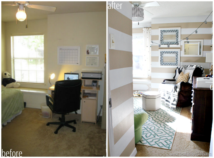 boy room before  n after