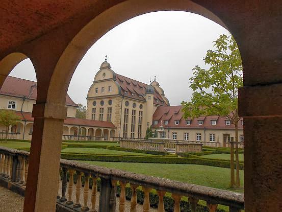 Kreuzgang im Benediktiner-Kloster Beuron