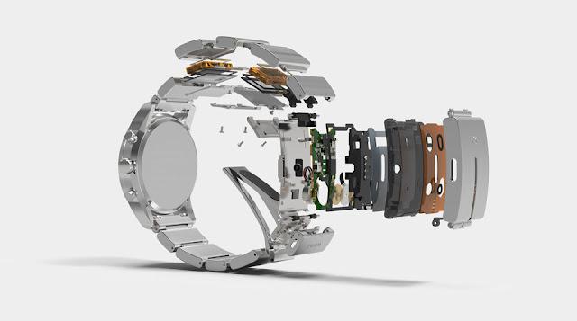 Sony Wena Wrist Pro Smart Watch