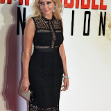 OIC - ENTSIMAGES.COM - Carol Vorderman at the  Mission Impossible - Rogue Nation  Exclusive Screening in London 25th July 2015 Photo Mobis Photos/OIC 0203 174 1069