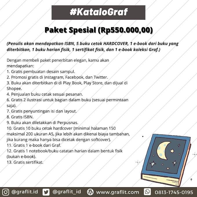 Paket Penerbitan Spesial (Rp 550.000,00)