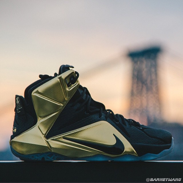 official photos 31146 bcc0f spain nike yellow brown mens shoes zoom lebron 12 105e6 a5a25  where can i  buy closer look at the elusive grammy night lebron 12 pe e9bcd 715b2