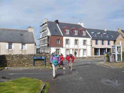Départ de la rando pointe de Saint-Matthieu