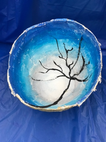 //gelliarts.blogspot.com/2015/01/paper-mache-bowls -with-gelli-prints.html#comment-form & Kim \u0026 Karen: 2 Soul Sisters (Art Education Blog): Paper Mache ...