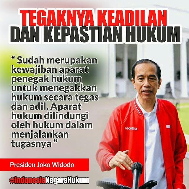 Pasca Demo 1812, Tagar Indonesia Negara Hukum Penuhi Medsos