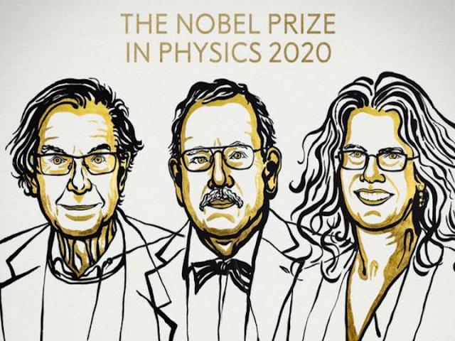 अमेरिका के 3 वैज्ञानिकों रोजर पेनरोज, रीनहार्ड गेंजेल और आंद्रिया गेज को भौतिकी का नोबेल पुरस्कार मिलेगा, ब्लैक होल और मिल्की वे के रहस्यों को समझाया