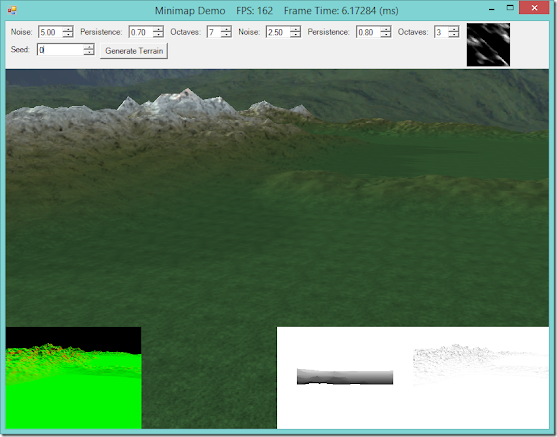 Shadow Mapping and Ambient Occlusion on Terrain