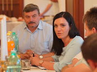 Körösi Ildikó az új önkormányzati és közigazgatási alelnök (Pered, Vágsellyei járás) osztja meg gondolatait (Fotó - KT).JPG