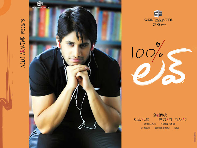 Naga Chaitanya, Tamanna Latest Telugu Movie - 100% Love (2011) Wallpapers