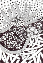 602 Zentangle Night and Day
