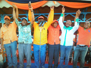 Rally in Malindi with the cord principles for Mtengo votes.