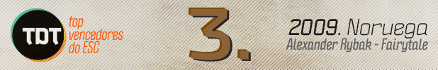 3 Tdt | Top 10 Vencedores Do Esc