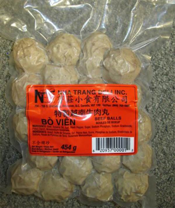 Nha Trang Deli Incorporated: Beef Balls - 454 grams