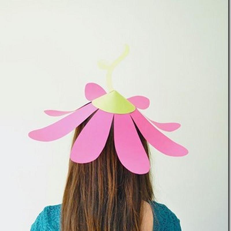 Como hacer un sombrero flor