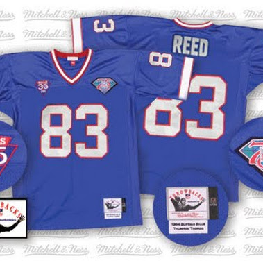 Men's Buffalo Bills Andre Reed Mitchell & Ness Royal Retired ...