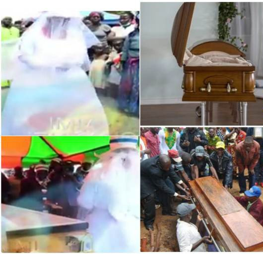 Woman marries her late husband's corpse so they will remain one (video)