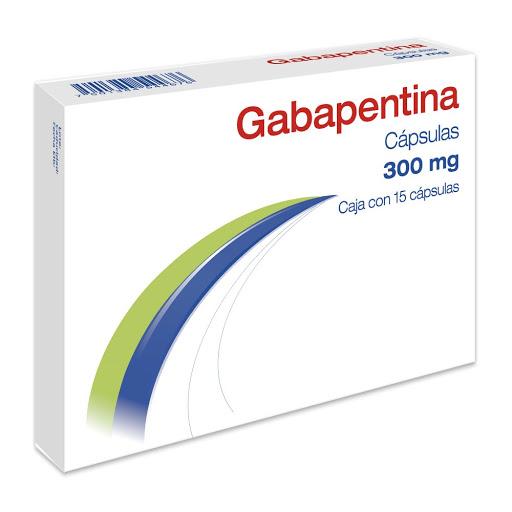 Gabapentina 300mg 15 Capsulas