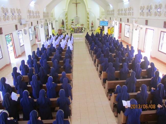 Dòng Khiết Tâm Đức Mẹ Nha Trang mừng lễ Trái Tim Vẹn Sạch Đức Mẹ, Bổn Mạng Hội Dòng
