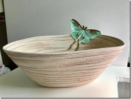 Luna Moth Basket Susie Bierman