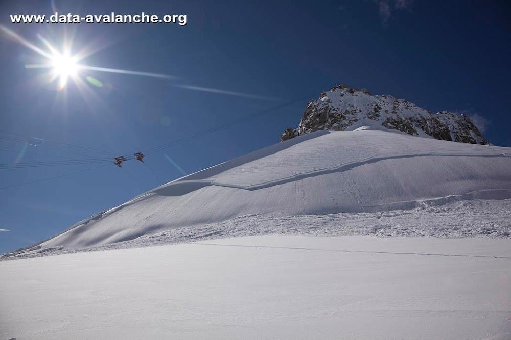Avalanche Mont Blanc, secteur Le Grand Flambeau, Col des Flambeaux - Photo 1