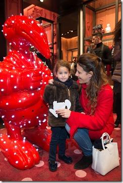 MONCLER ENFANT OPENING EVENT MILANO SPIGA_Francesca Versace e  Ayla