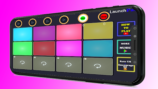 Bella Ciao - LaunchPad Dj Mix Music android2mod screenshots 4