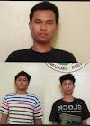 Terciduk Narkoba, Tiga Pemuda di Tangkap Dalam Rumah Gg Cebol Purba Sari.