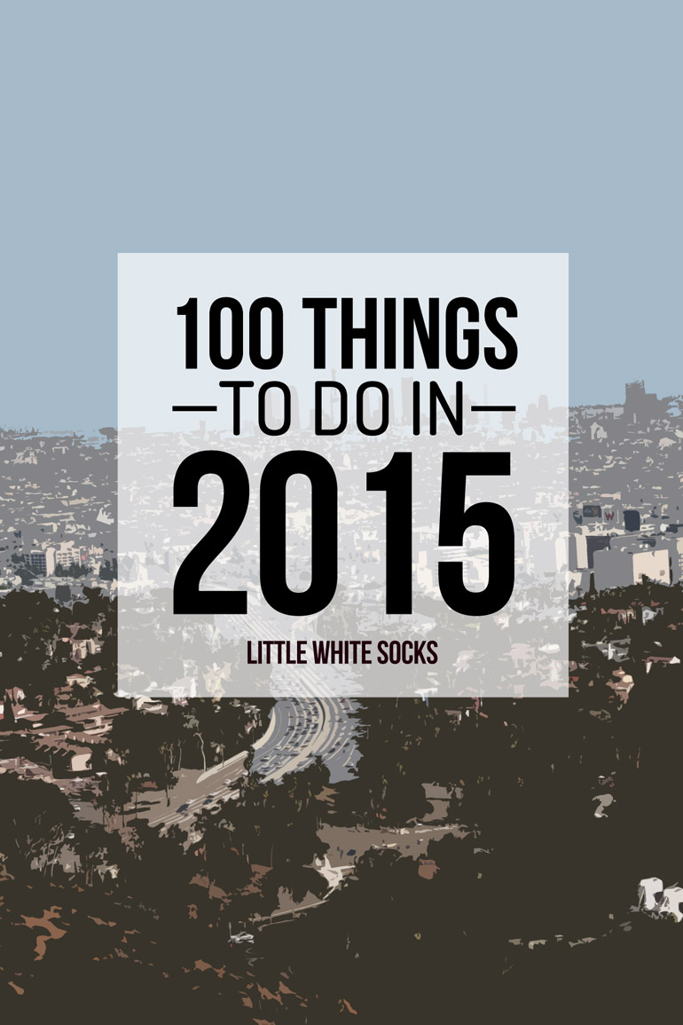 100 things to do in 2015