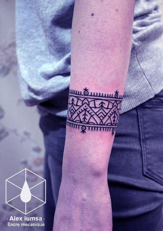 geomtrica_de_pulso_banda_tatuagem