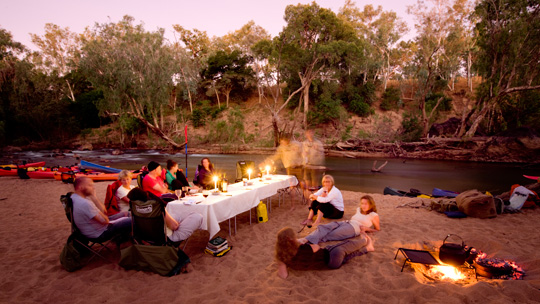 Outback camp near Katherine Gorge
