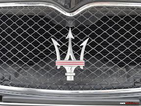 Maserati Quattroporte Grill and Badge