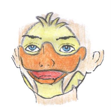 pato maquillaje infantil